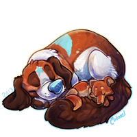 Sleepydogs by Colonels-Corner
