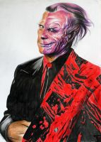 Tommy Lee Jones Two Face by donchild