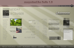 MagazinelikeSuite_rainmeter by hpluslabels