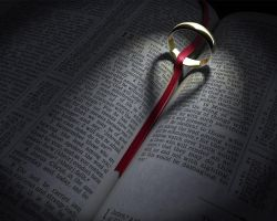 3D Bible and Ring Heart Shadow by JoshuaCollins-media