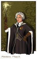 Madam Hooch by WhiteElzora