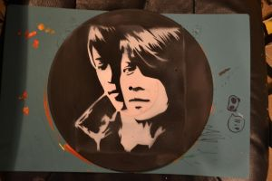 Tegan and sara vinyl record by SimplySaraArt