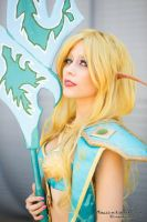 Blood Elf -World of warcraft by Yeonlang