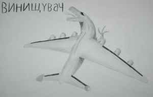 Killer An-225 by concaholic