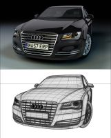 Audi A8 by Tom-3D
