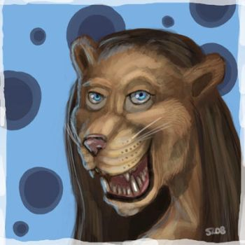 Lioness Portrait by DarkSalvation