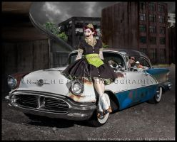Undead Carhop by Anathema-Photography