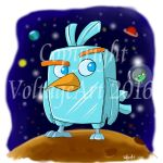 Angry Birds Movie Ice Bird by Voltage-Art