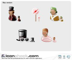Charlie and the choc Web Icons by Iconshock