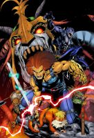 Thundercats HO Colors by Darkstampede
