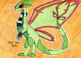 Mega Flygon Pirate by FlygonPirate