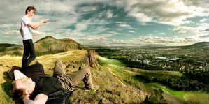 edinburgh by martybell