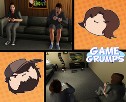 The Sims 3: Game Grumps by Tx-Slade-xT