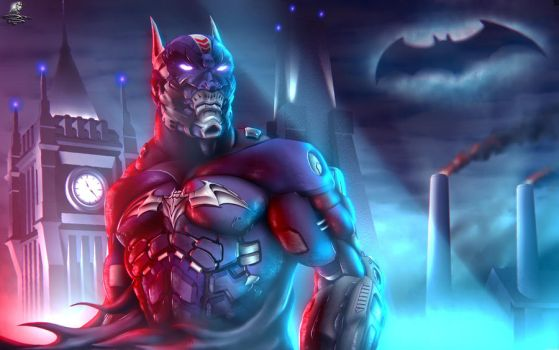 Batman Beyond - Super, I'm waiting for you by Unreal-Forever