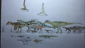 Wessex formation biota by paleosir