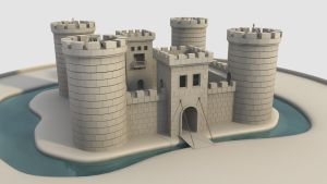 Crooked castle WIP2 by cr8g