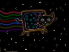 Rave Cat by jagged66