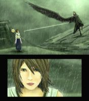 Round 2: Sephiroth vs Yuna by LivanVellnight