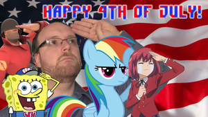 Independence Day Salute to USA! by AaronMon97