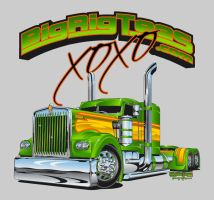 Big Rig Tees by akunastyle