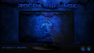 ROCCAT GRUNGE WallPaper - By BeautyDesignz by BeautyDesignz