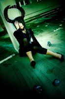 Black Rock Shooter - Dead Master by Xeno-Photography