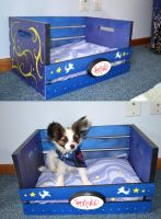 Custom Puppy Bed by Nestly