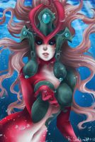 League of Legends -  Nami by VIIFinalHeartsII