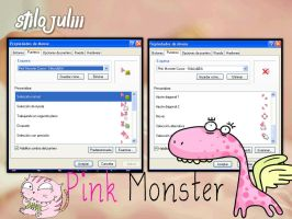 Pink MonsterCursor-StiloJuliii DA by StiloJuliii