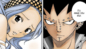 Gajeel and Levy by XxVikuteexX