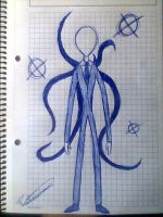 Slenderman by Rebeka-KH