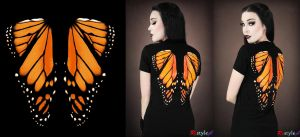 Monarch Butterfly by Euflonica