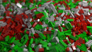Lego bricks by MrHeinzelnisse