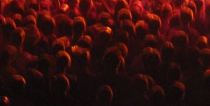 Abstract crowd by 6nop6