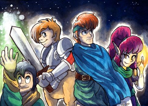 Shining Force GO by MableTheRabbid