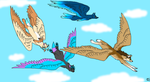 Fursonas take Flight by Ariokkii