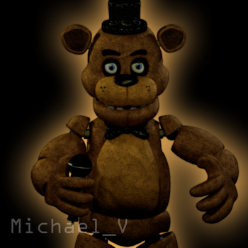 FNaF 1 Freddy Fazebar Model by Michael-V