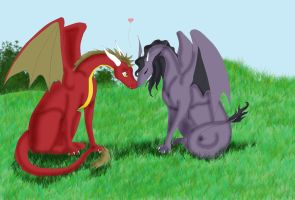 Dragon love by KAssi2007