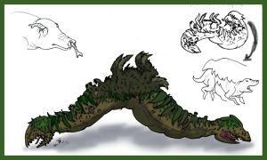 Lure creature for contest by Worm-love