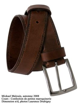 Leather Belt by MikeHellius