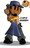 Chris Green by geogant