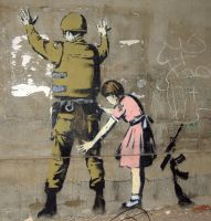 Life Real by bansky by agonfighter