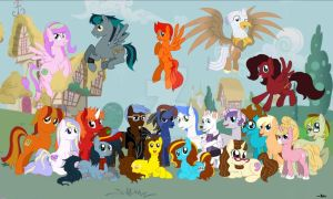 Group Picture! by AkoraFelstream