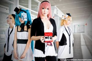 Vocaloids X Polaroids by songster69