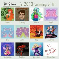 2013 Summary by aprilmdesigns