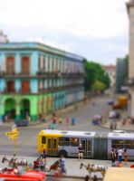 Tilt-Shift Cuba City Scene by egypt-rai