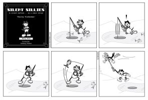Silent Sillies 045 - Faulty Fisherman by JK-Antwon