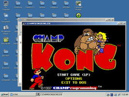 ReactOS Champ Kong Update by mugenfighter
