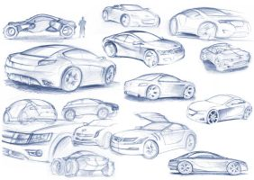 car sketches by gizmoaseth