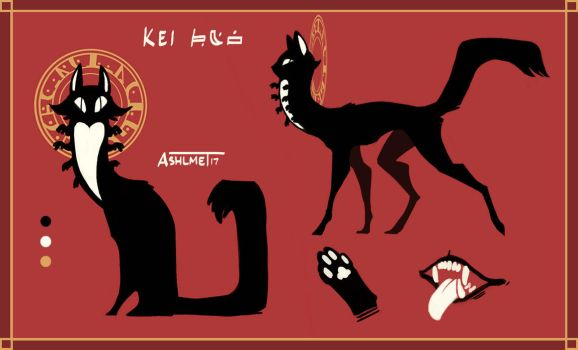 Kei The Katerpillar Ref by Ashlmet